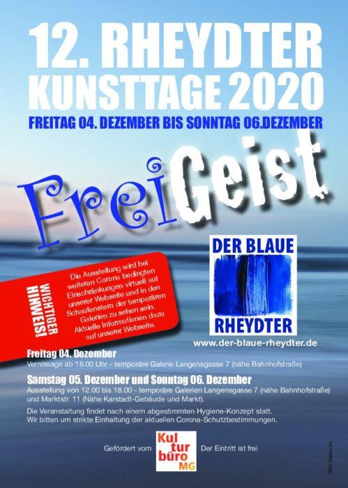 Freigeist – 12. Rheydter Kunsttage