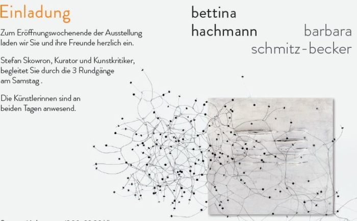 bettina hachmann | barbara schmitz-becker