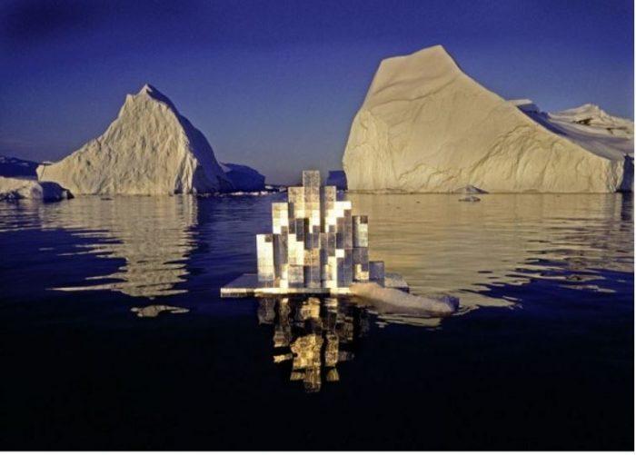 Licht-Architektur (Modell für eine schwimmende Forschungsstation in der Arktis), 1976 Fotografie: Thomas Höpker, Courtesy Archiv Atelier Mack © Heinz Mack/VG Bild-Kunst, Bonn 2020