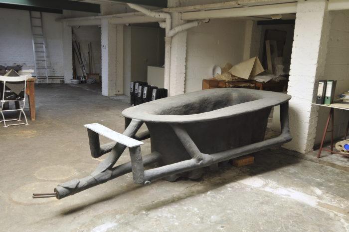 Badewanne 1961-1985; Museum Kurhaus Kleve - Leihgabe der Kunstsammlung Nordrhein-Westfalen, Düsseldorf (Dauerleihgabe Eva Beuys)