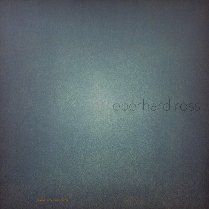 Eberhard Ross | listening to colours/watching sounds